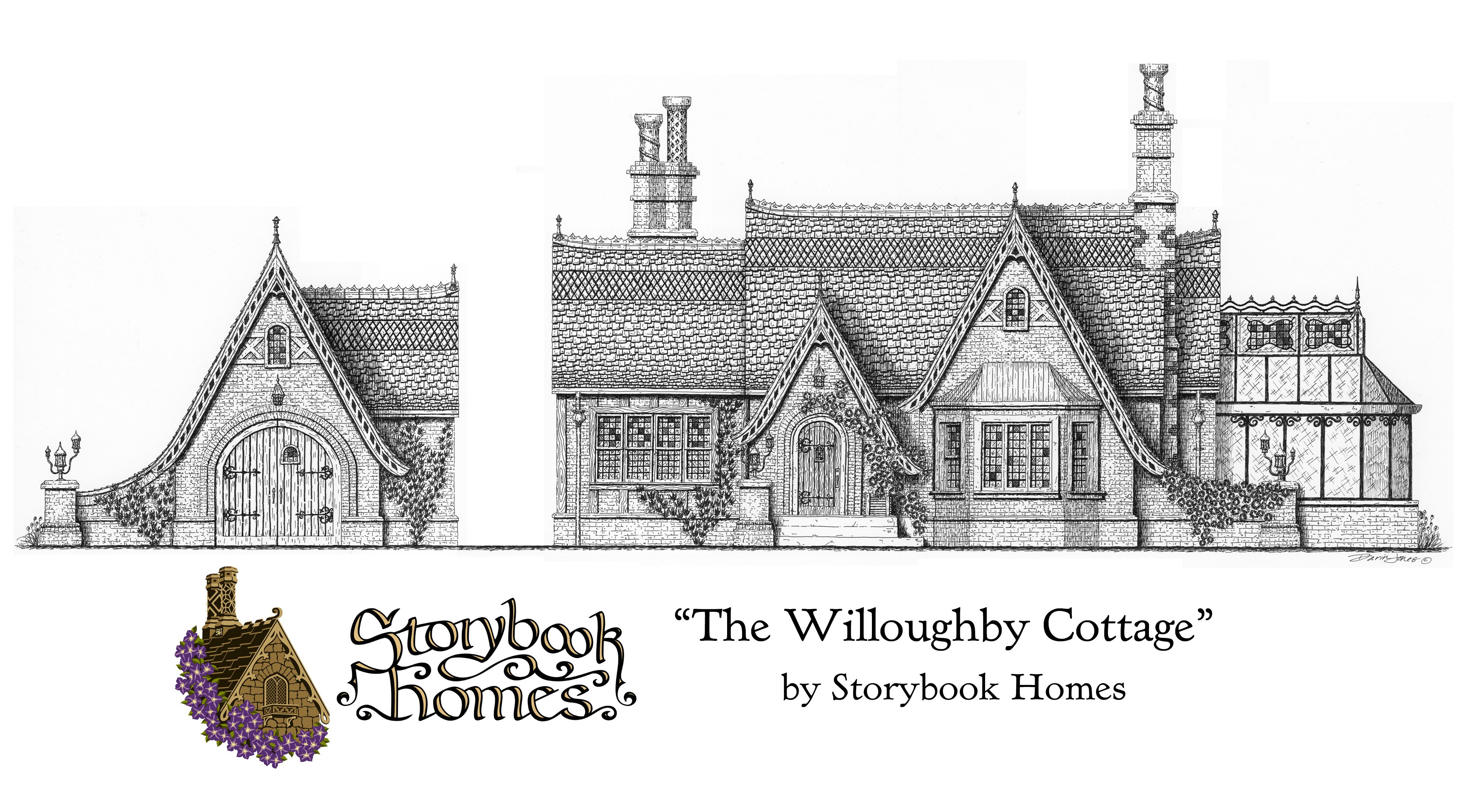 Pin By Storybook Homes On Storybook Homes Storybook House Plan Storybook Homes Storybook Cottage