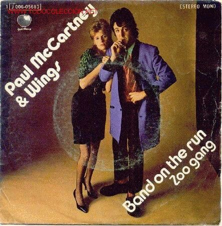 Macca Band on the run Single | Band on the run, Paul mccartney and wings, Wings  band