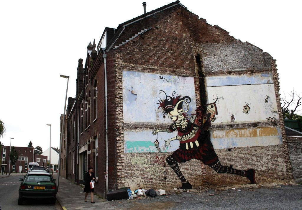The runner who lost everything about his multiple homes.Heerlen (Netherlands)