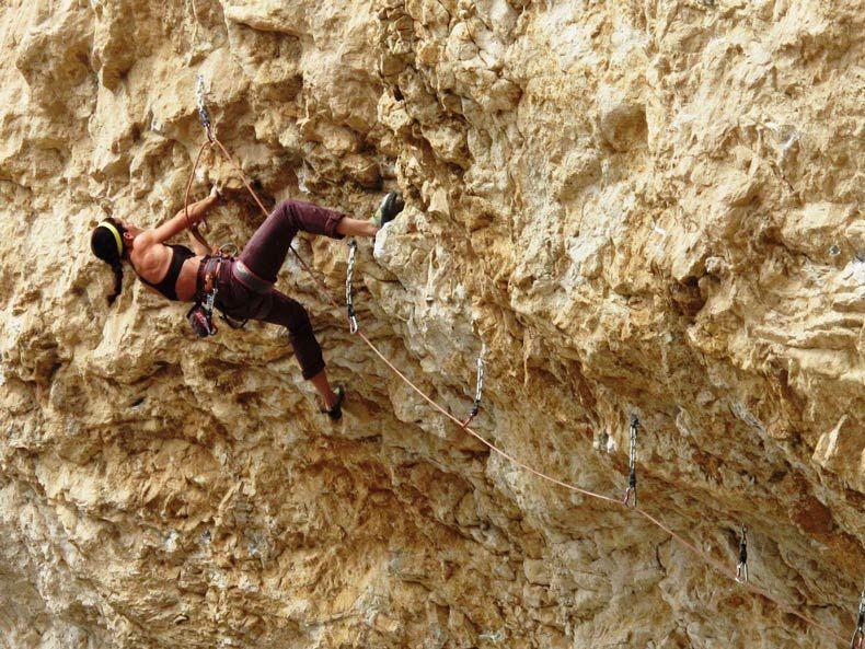 Alli Rainey Stepping Stones (Part 5 Ice climbing
