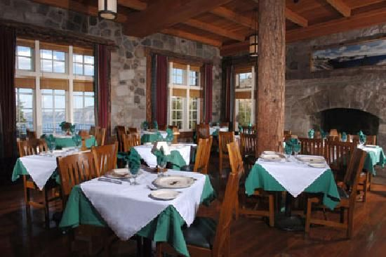 Crater Lake Lodge Dining At Crater Lake Oregonwe Did Dine Extraordinary Crater Lake Lodge Dining Room Menu Design Inspiration