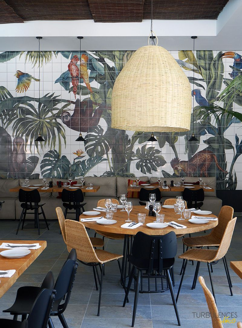 Une parenth se ensoleill e casa cook rhodes for Casa moderna restaurante salta