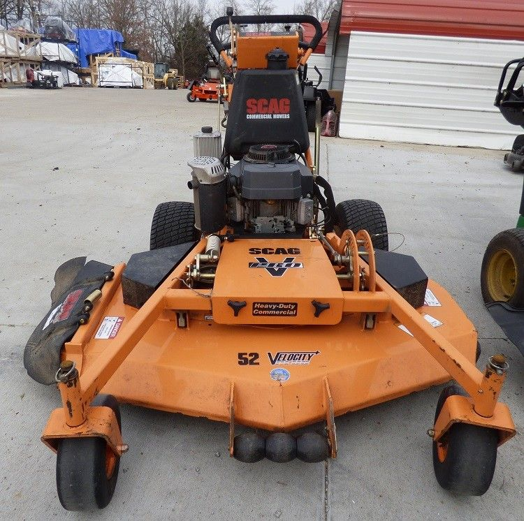 Used Scag V Pro 52 Walk Behind Lawn Mower 19 Hp Kawasaki