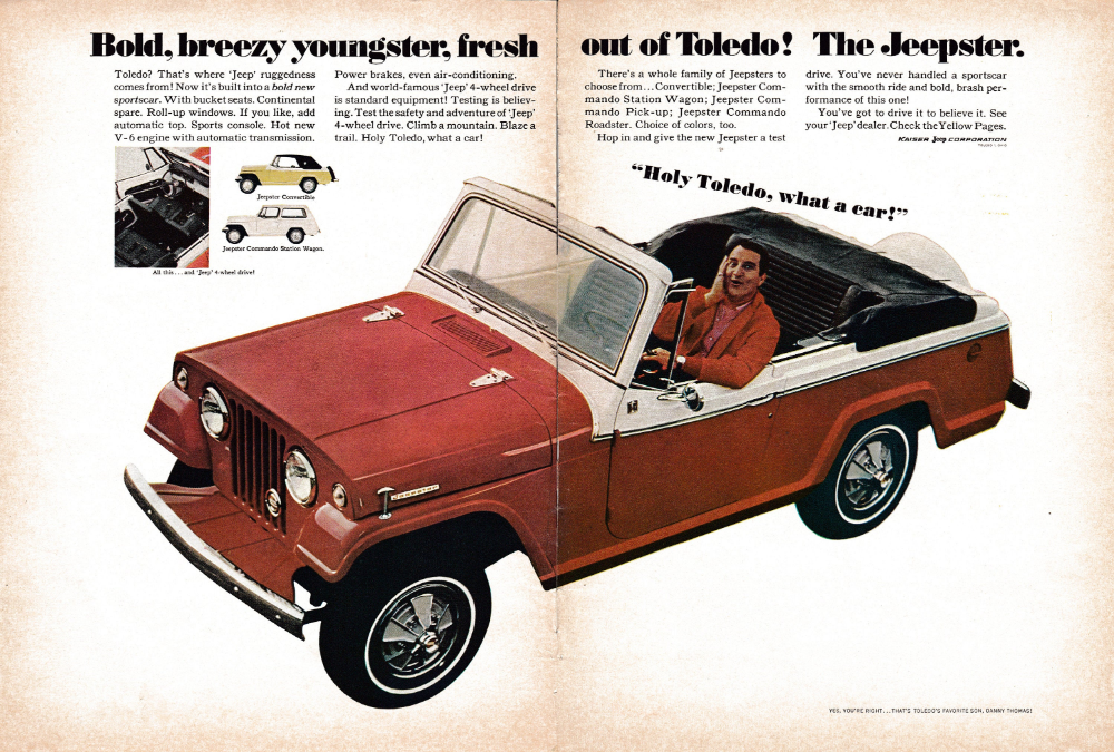 Pin On Jeep Willys Kaiser Frazer Ads