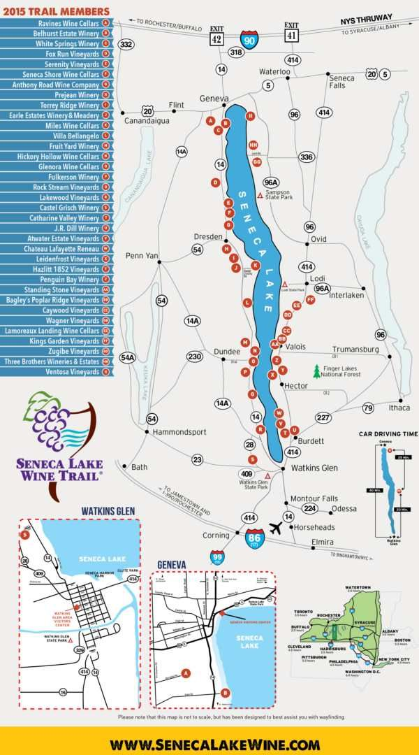 finger lakes wine country map Slwt Map 2015 Wineries Small Wine Trail Seneca Lake Finger finger lakes wine country map