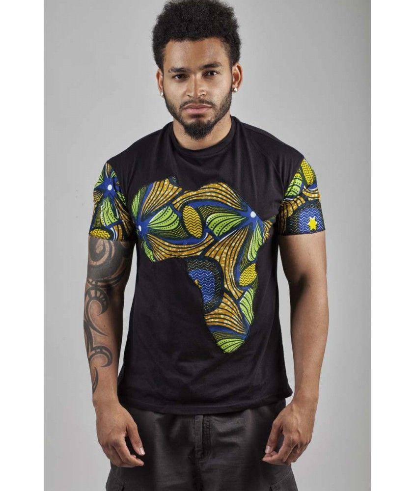 Assez T-Shirt Africafutur Vintage Wax | couture | Pinterest | Mode  LO56