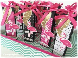 Stampin Up_Gastgeschenk_Goodie_Give Away_Katalogparty_Pop of Paradise_Flamingo_Amicelli_Verpackung_Tuete_Stempelfantasie