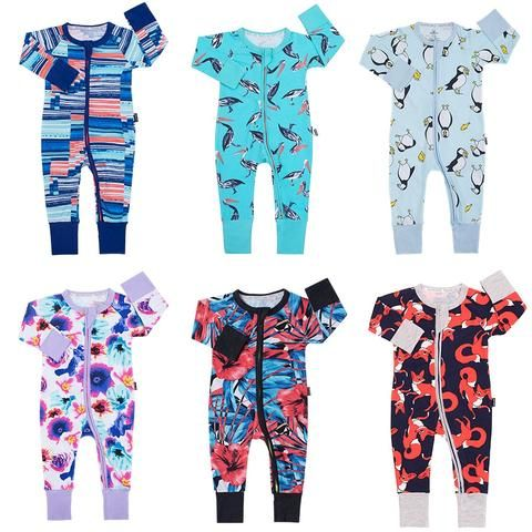 b2e787700feb Infant Jumpsuit Long Sleeves Cartoon Romper Baby Boy Girl Clothes Tiny  Cottons New Born Toddler Onesie Overall Outfit Pajamas