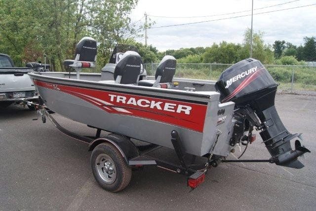 2008 tracker pro guide v16 sc aluminum fishing boat $9500