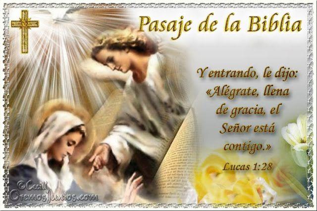 Vidas Santas: Santo Evangelio según san Lucas 1:28