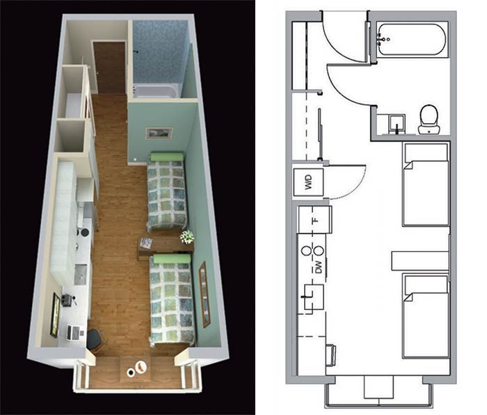 17 Best 1000 images about Space Efficient Micro Homes on Pinterest