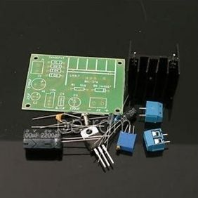 10pcs LM317 Adjustable Power Supply Board with Rectified AC DC Input DIY Kit