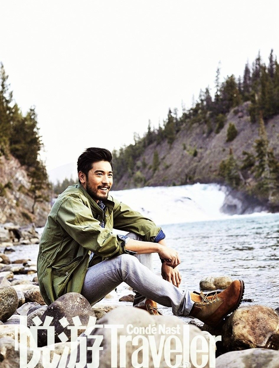 Godfrey Gao | Conde Nast Traveler March 2016