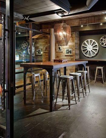 Style Industriel Soiree Patrimoine Pinterest Coffee Shop