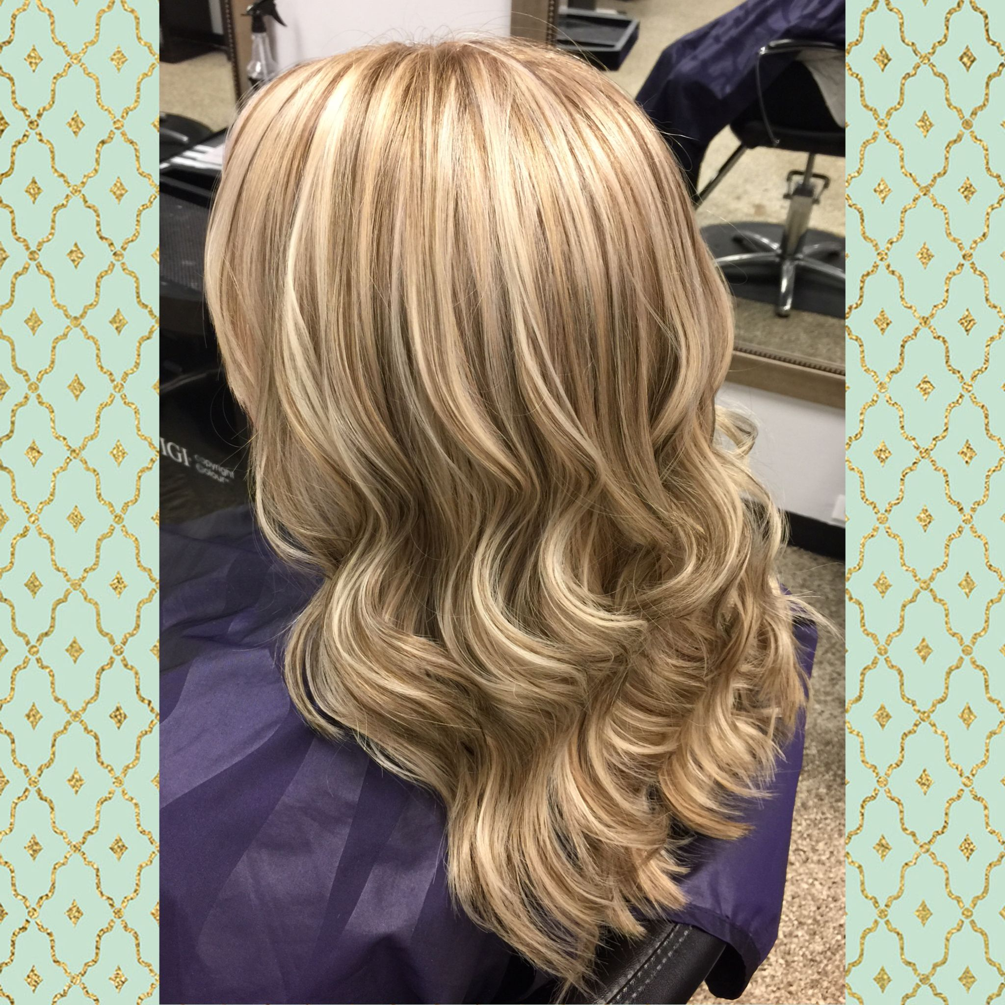 A beautiful ashy blonde and chocolate brown highlight and lowlight ...