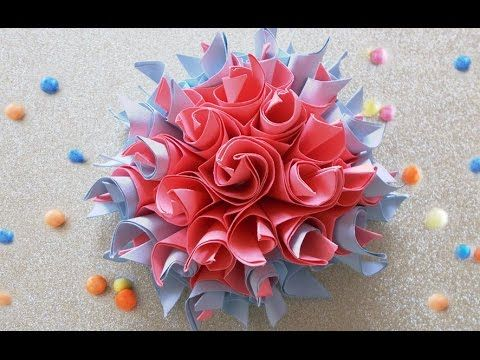 Easy Origami How To Make No Glue Paper Flowers Diy Project