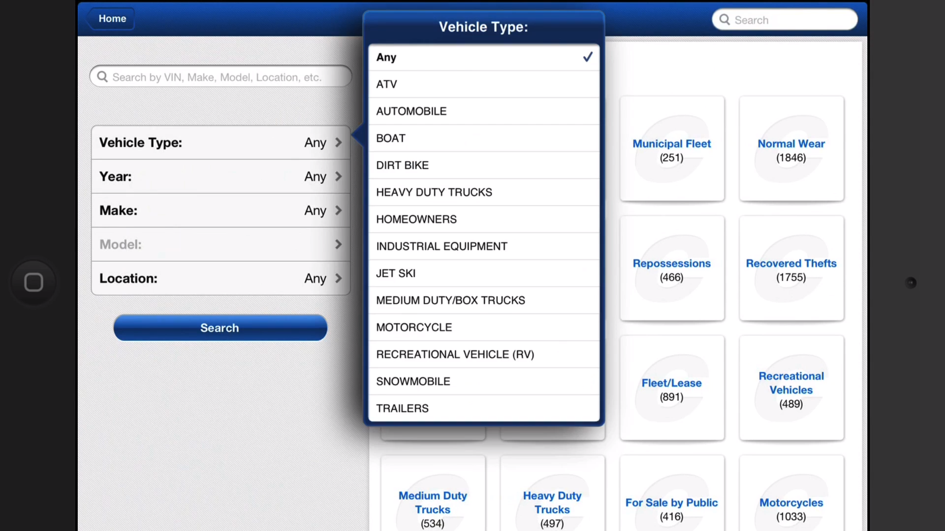 Car Auction Apps >> Use The Copart Mobile App To Search The Daily Inventory Of