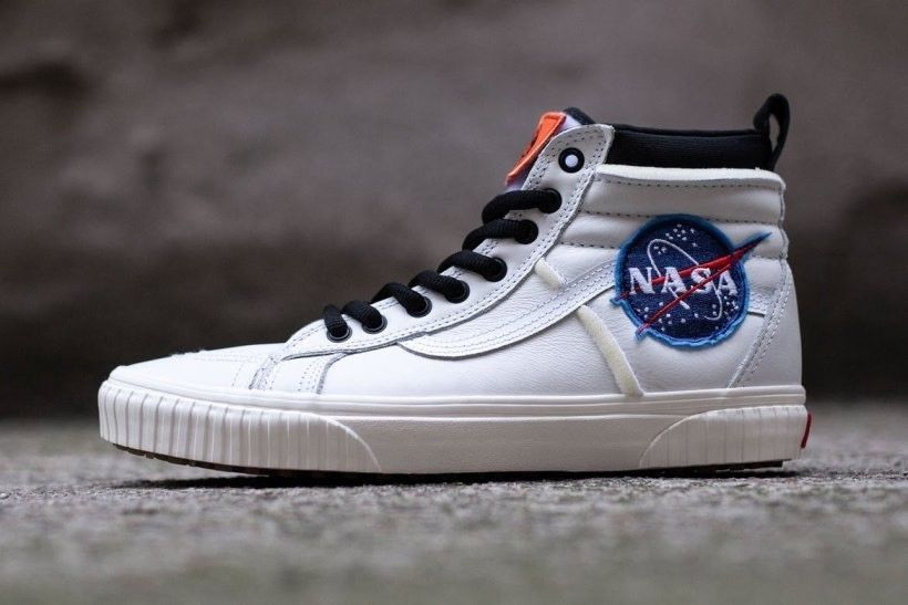 NASA x Vans SK8-Hi 46 MTE DX Space Voyager True White Marshmallow ...