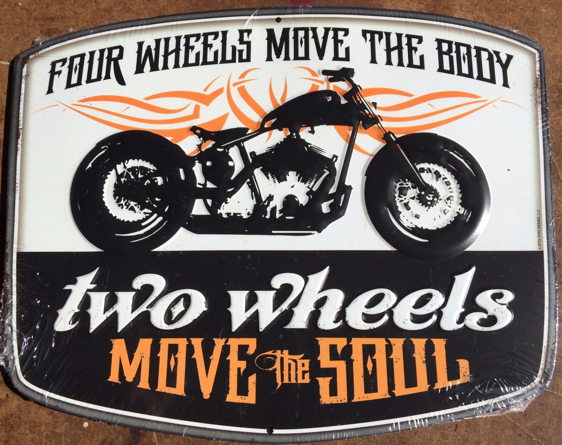 Full Text On Sign: Four Wheels Move The Body Two Wheels Move The Soul