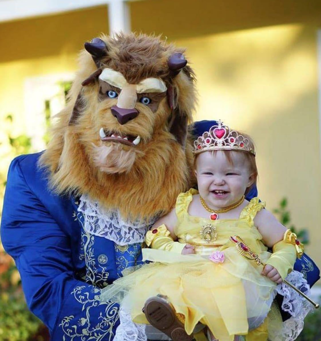 Belle And The Beast With Images Baby Girl Halloween Costumes
