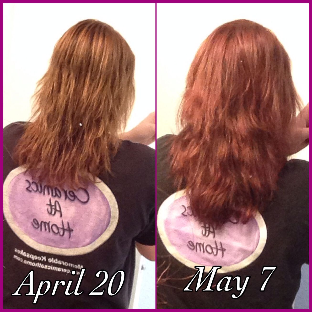 Biotin results. Before and after. Really works!! Biotin
