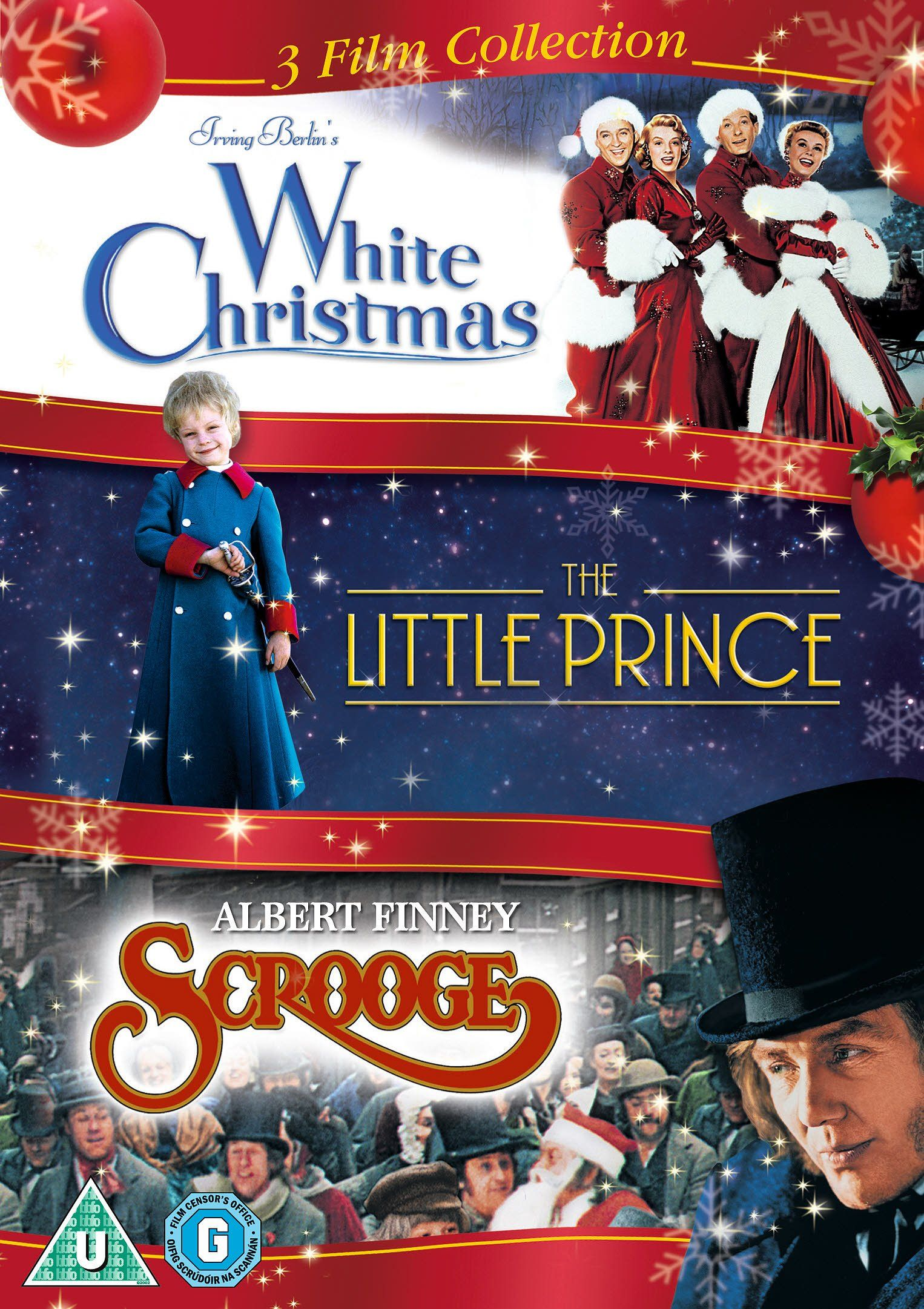 white christmas the little prince scrooge triple pack dvd amazonco