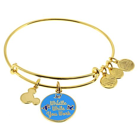 Snow White ''Whistle While You Work'' Bangle by Alex and Ani | Disney Store