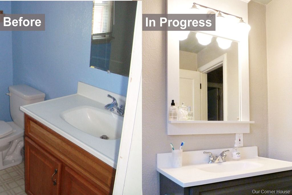 Superior Inexpensive Bathroom Refresh