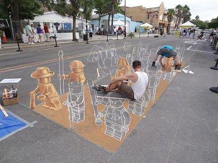 arte urbano 3d - Buscar con Google