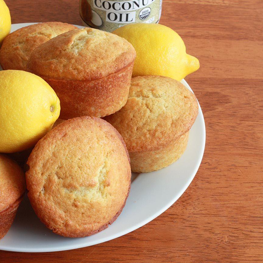 Lemon Coconut Muffins - The Daring Gourmet
