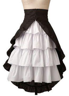 petticoat skirt  needs to fit under corset in 2020