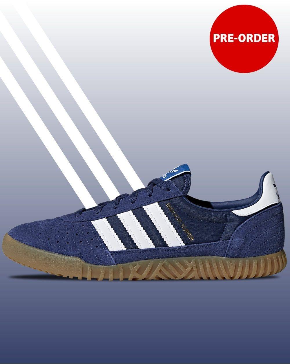 Adidas Indoor Super Trainers Navy