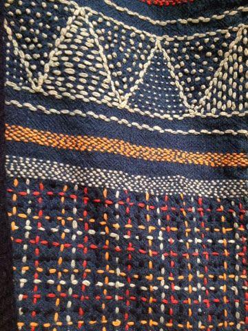 8b31940c8b49e1 En helg i höstas besökte äldsta dottern och jag Härnösand. Där pågår  nämligen något fantastiskt  En sashiko- utställning! Det är fortfaran.