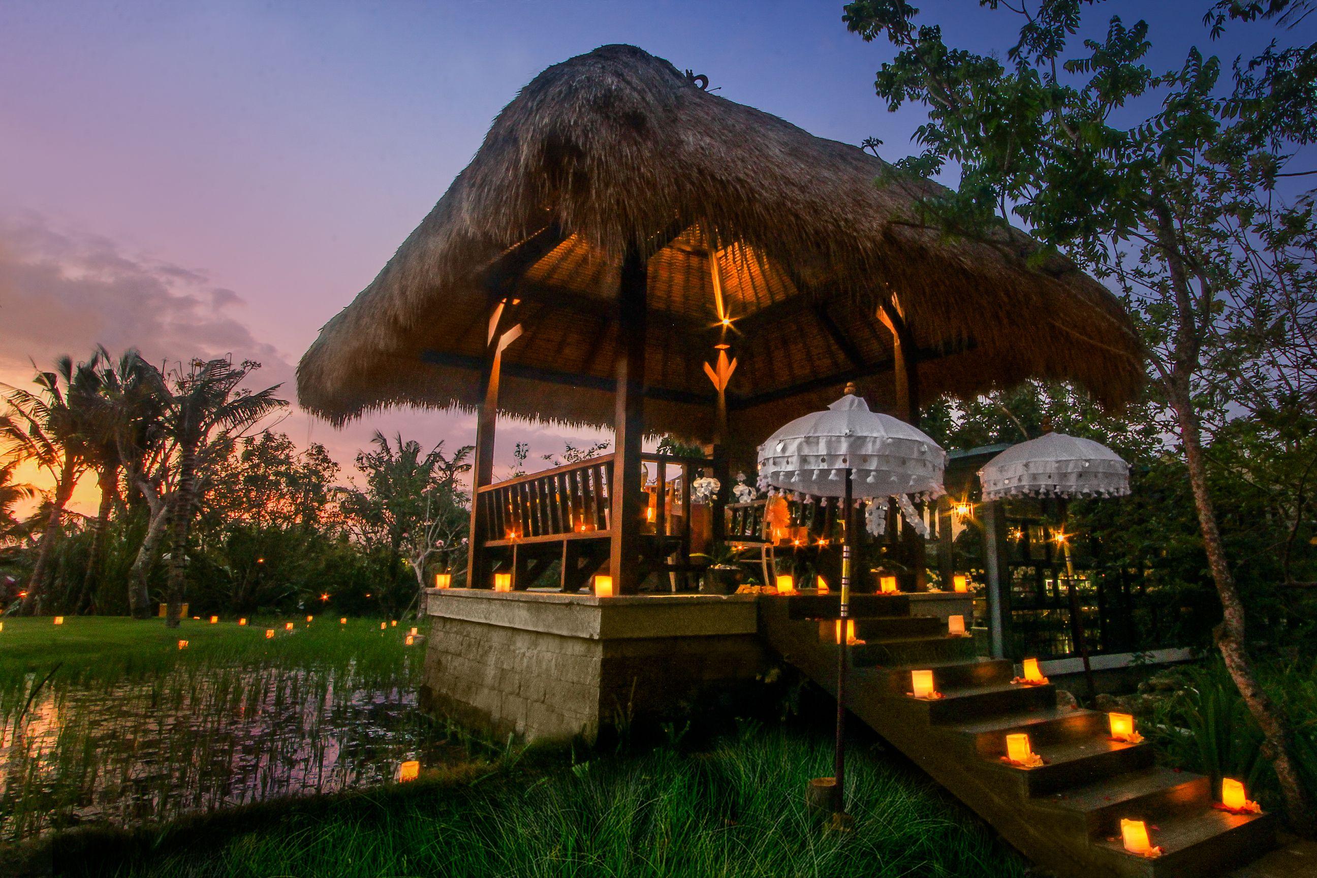 Ayana resort and spa bali jimbaran bali candlelight dinner and