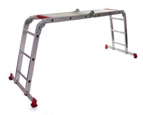 Werner 12 Way Multi Purpose Combination Ladder With Platform Storage Design Combination Ladders Design