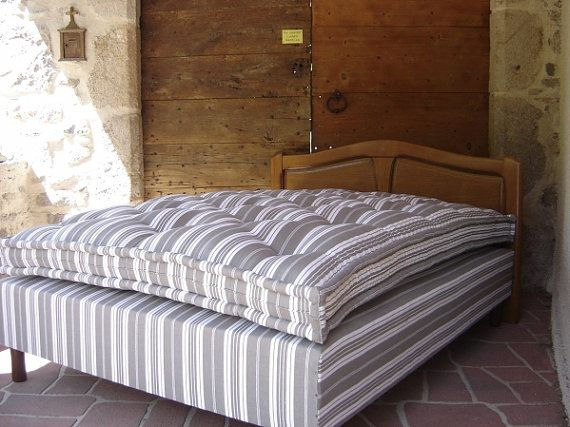 Organic Wool Mattress Are Hand Made Locally In The Basque Country