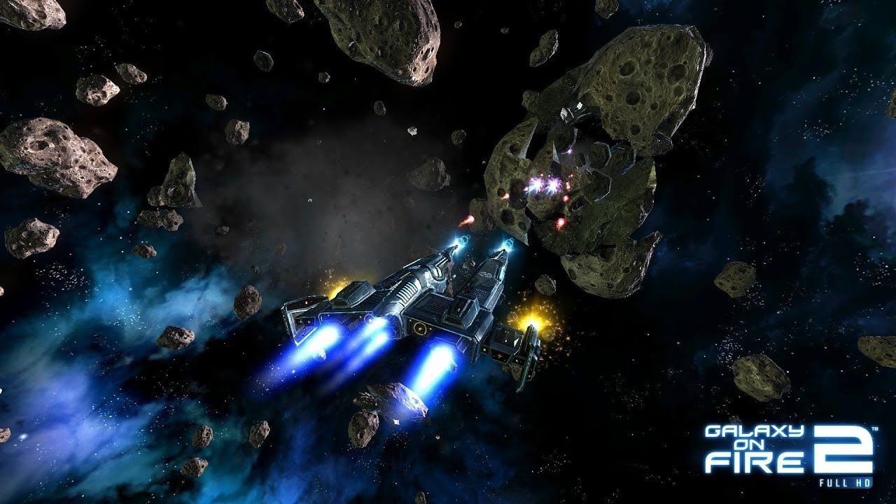 Galaxy on Fire 2 Mod APK Download in 2020 Picture logo