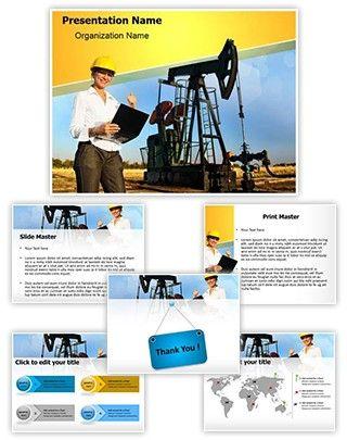 Engineer oilfield powerpoint template is one of the best powerpoint engineer oilfield powerpoint template is one of the best powerpoint templates by editabletemplates toneelgroepblik Images