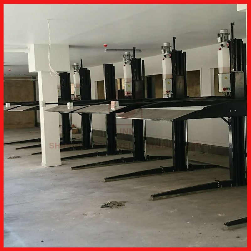 Special 2 Post Vehicle Garage Equipment / Car Lift Parking Cost