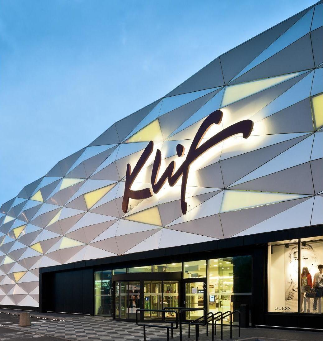 Shopping Mall Iv Facade Retail
