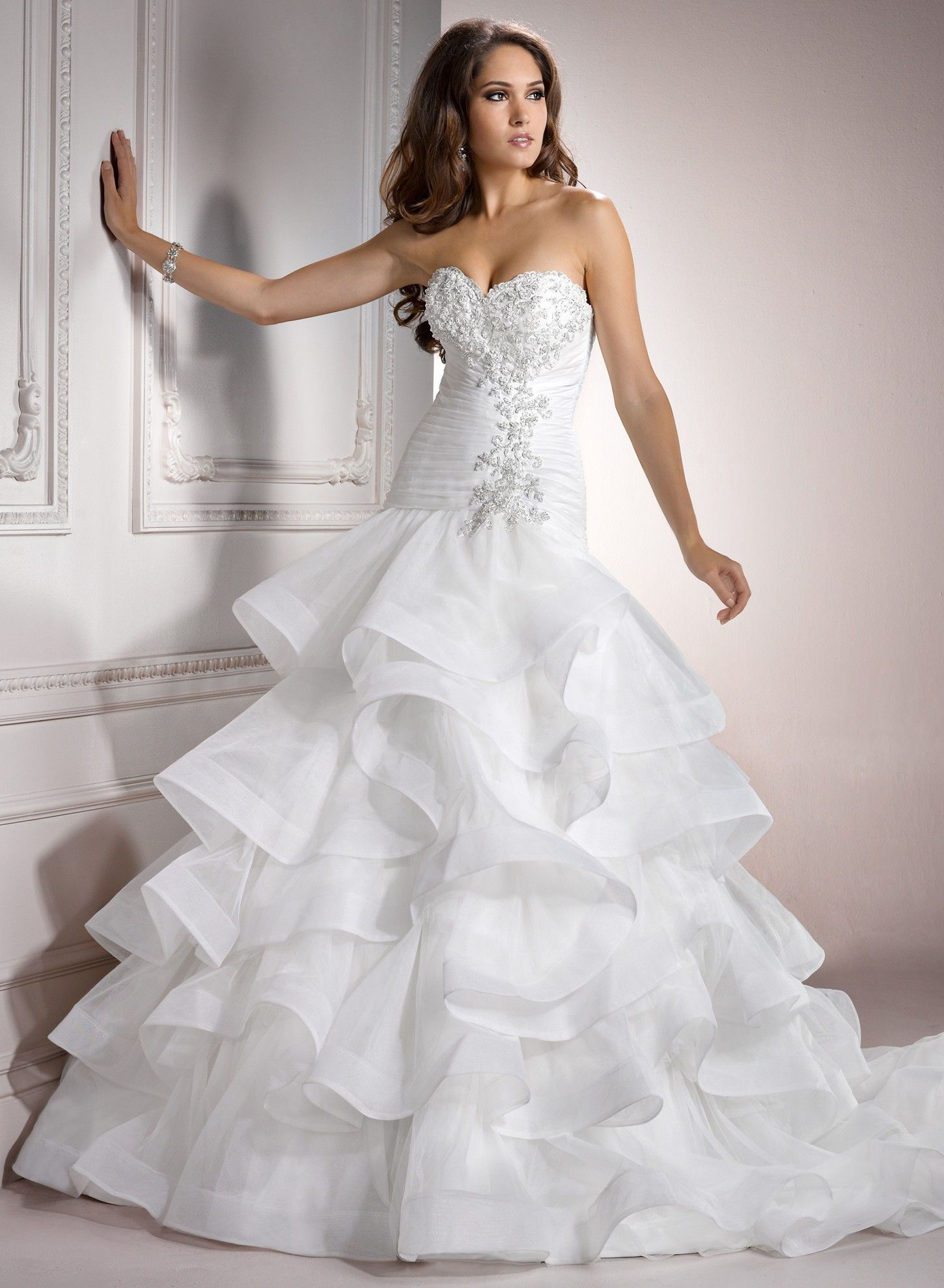 wedding-dresses-ball-gown-sparkly-51.jpg (1450×1977) | Ideas for ...