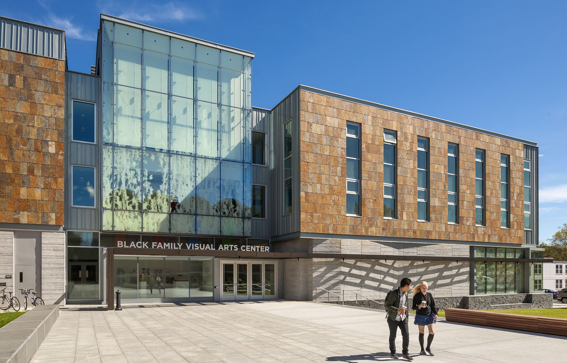 Dartmouth college black family visual arts center with