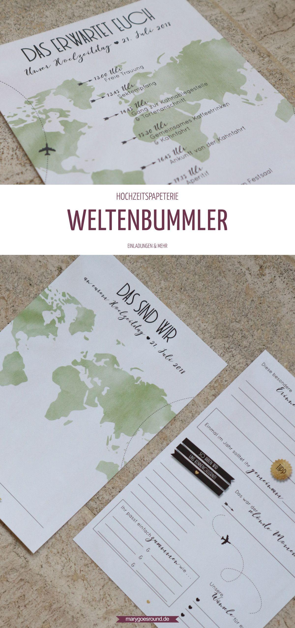Hochzeitskarten Mit Weltkartenmotiv Sind Perfekt Fur Euch Wenn Ihr