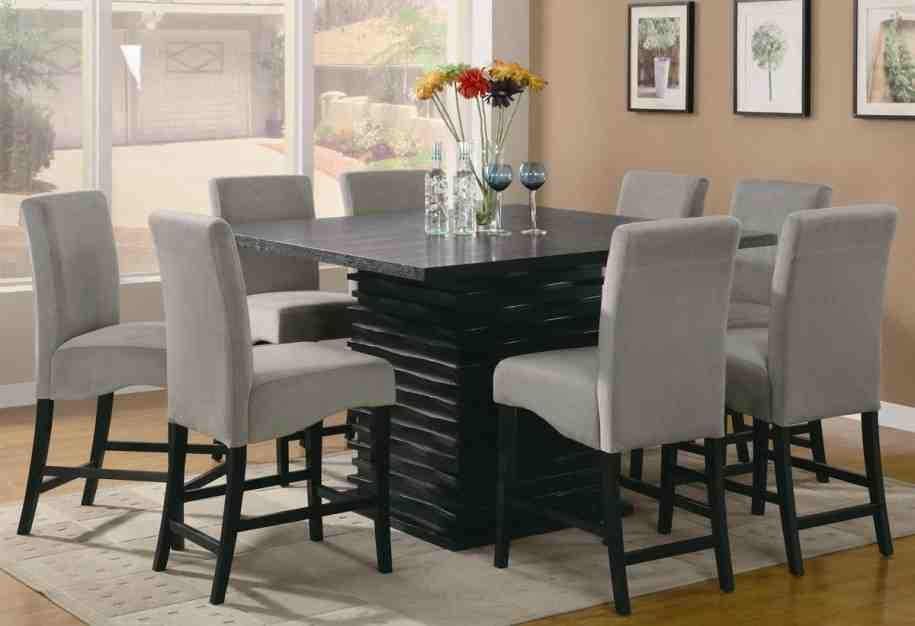 Grey Fabric Dining Room Chairs Dining Room Chairs Pinterest Extraordinary Grey Fabric Dining Room Chairs