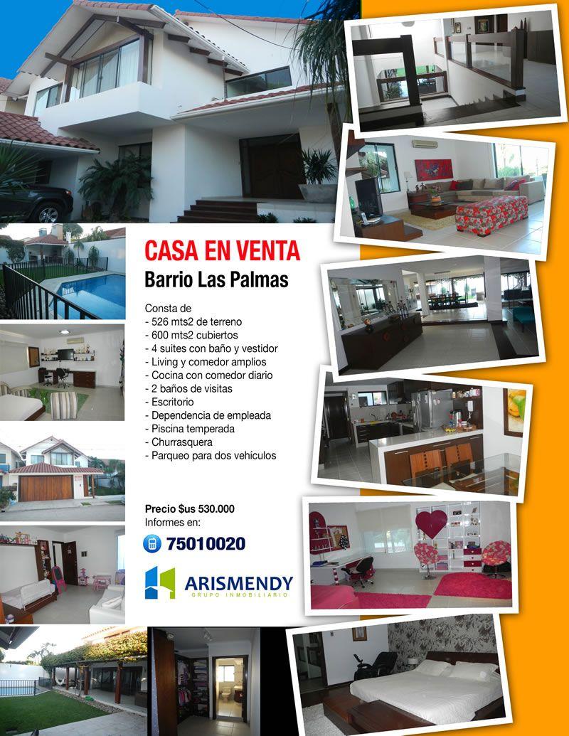 Arismendy Grupo Inmobiliario Casa En Venta Barrio Las Palmas