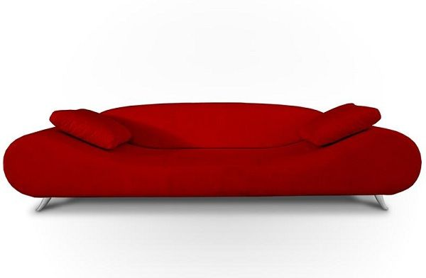 Awesome Red Contemporary Sofa Outstanding Red Contemporary Sofa