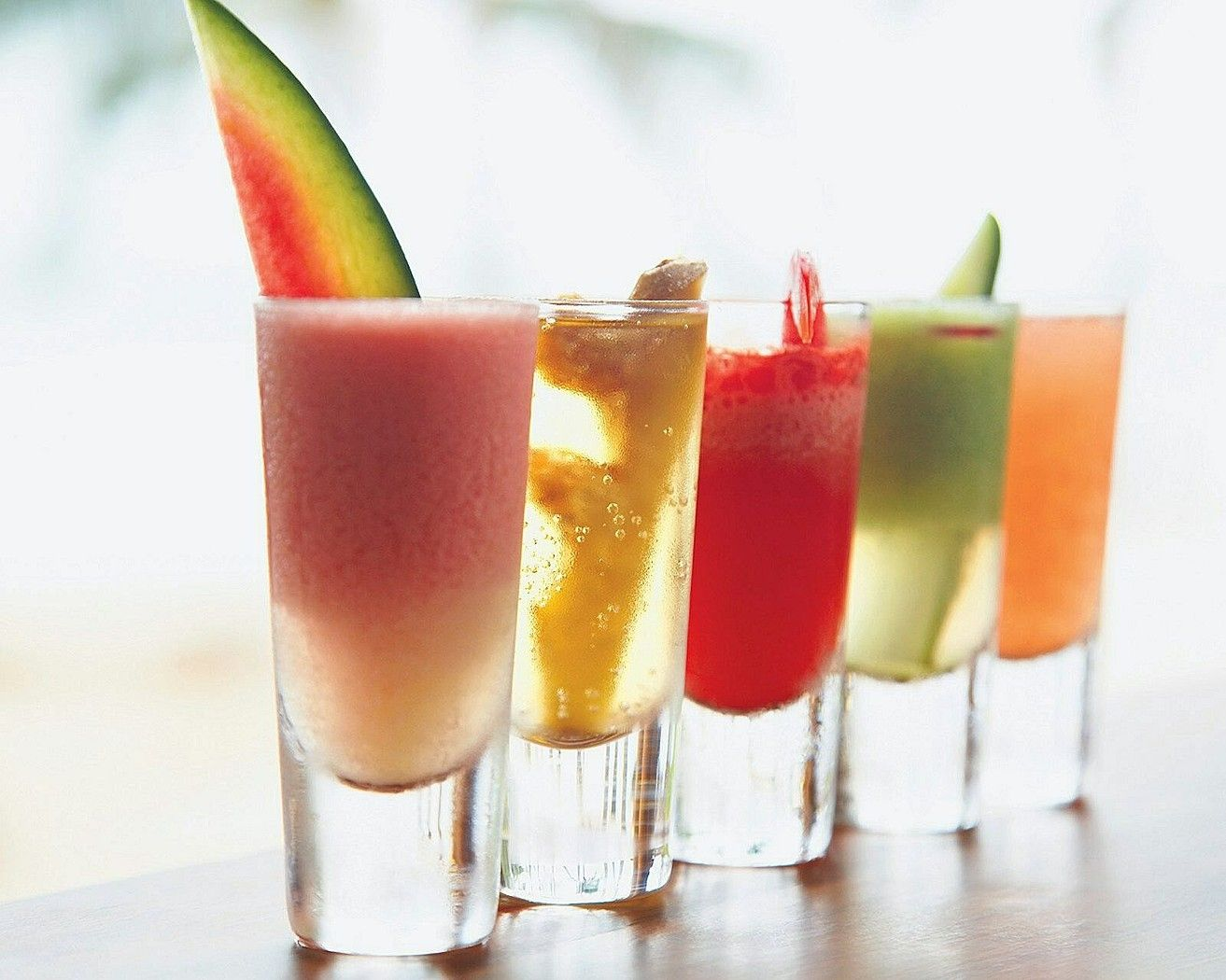 What could be the next beach refreshment on the next hour at the Main Beach of Four Seasons Resort Koh Samui, Thailand? Hmmm...
