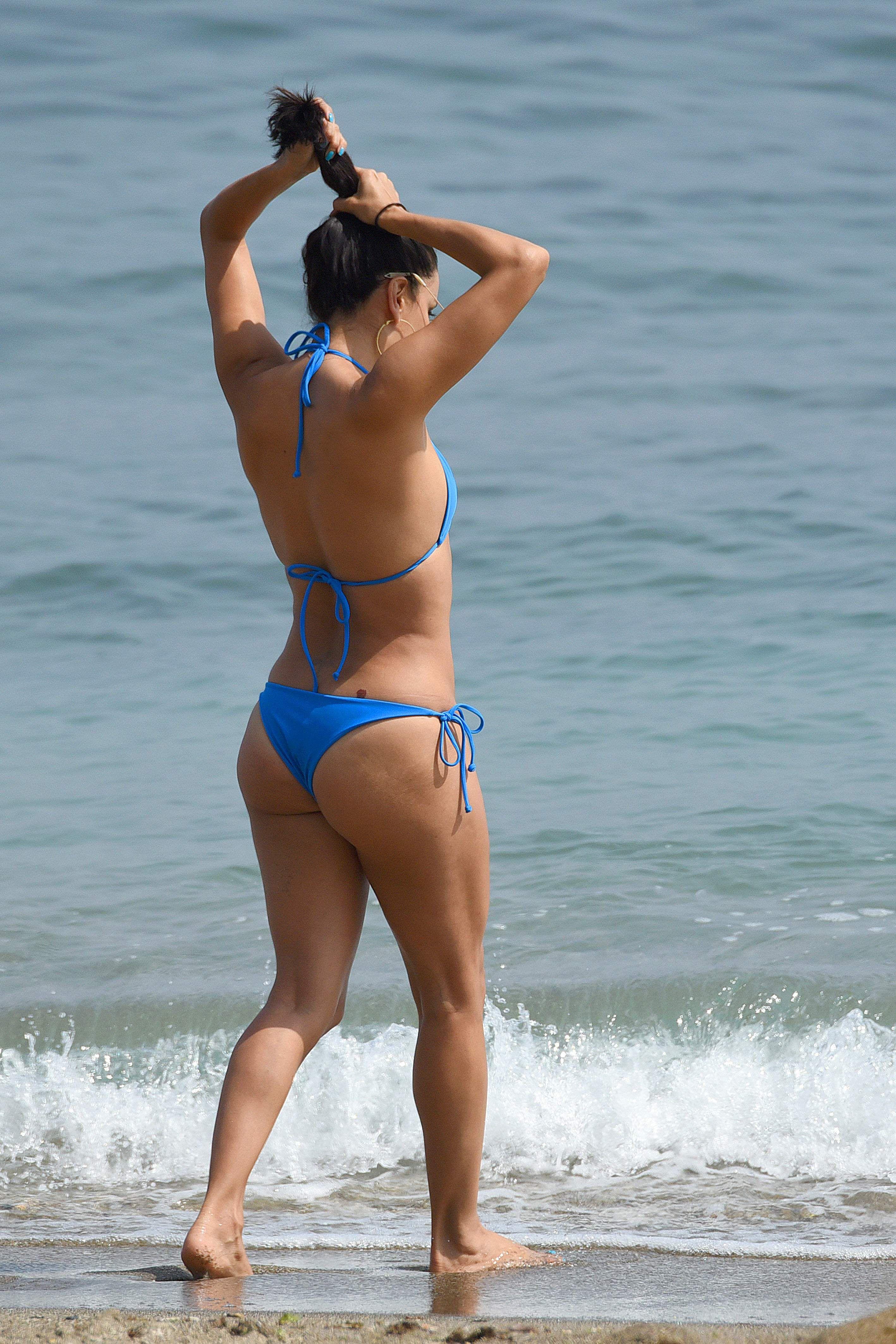 Theme, Eva longoria bikini beach