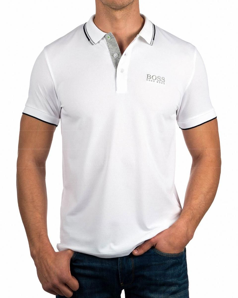 Hugo Boss - Polo - para hombre, rosa (fucsia), Small