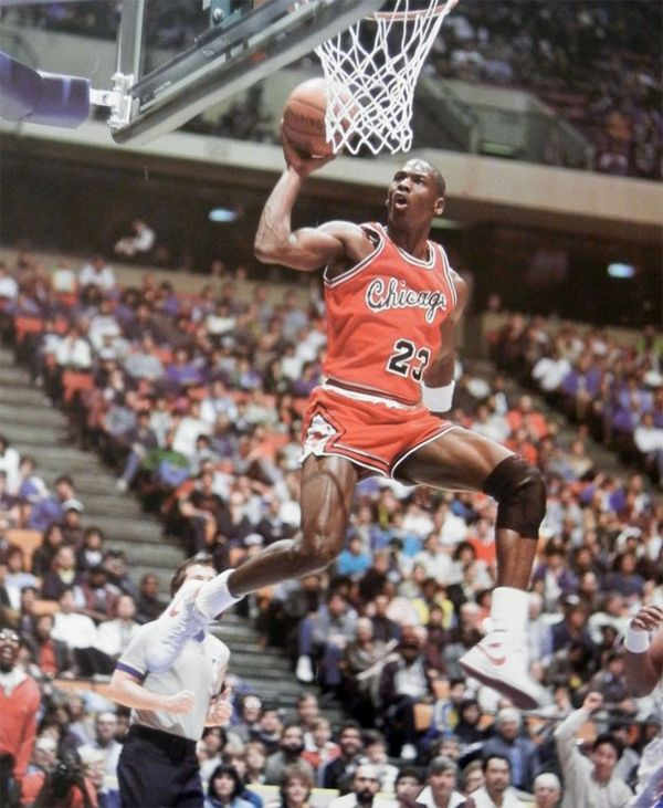 Image result for michael jordan 1984 dunk
